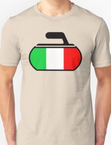 Italy Curling T-Shirt