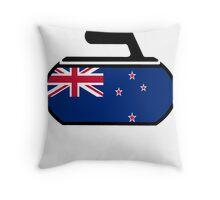 New Zeland Curling Throw Pillow