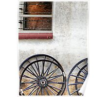 Amish Wheels Poster