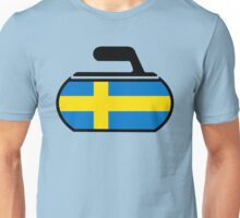 Sweden Curling Unisex T-Shirt