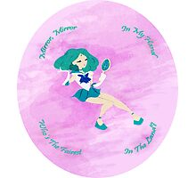 Mirror, Mirror - Sailor Neptune Photographic Print