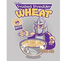 Shredder Wheat Photographic Print