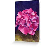 Summer Hydrangea Greeting Card
