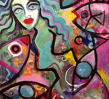 Mermaid II by Karin Zeller