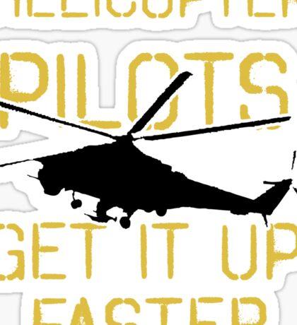 Up Faster Apache Sticker