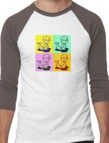 Puff! Men's Baseball ¾ T-Shirt
