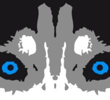 Husky Face Blue Eyes Sticker