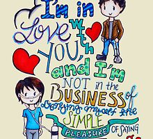 """The Fault In Our Stars (TFIOS) - """"I'm In Love With You..."""" by charsheee"""