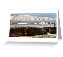 The Canoe Pool - Newcastle Beach NSW Australia Greeting Card