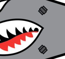 Shark Bomb Sticker