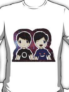 Danisnotonfire and AmazingPhil Chibi T-Shirt