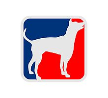 Dog Logo Photographic Print