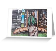 Algonquin Canoe Heritage Greeting Card