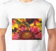 Busy Buzzing Bee Unisex T-Shirt