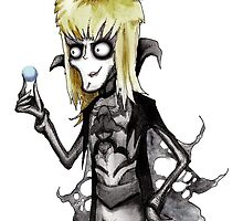 TIm Burton Jareth The Goblin King by LVBART