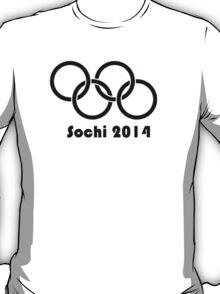 Sochi Opening rings T-Shirt