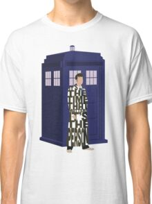 Doctor Who with TARDIS Classic T-Shirt
