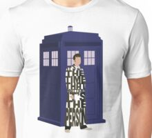 Doctor Who with TARDIS Unisex T-Shirt