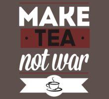 Make Tea, Not War  Kids Clothes