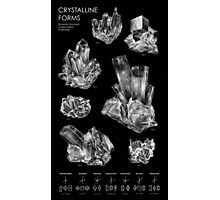 Crystalline Forms Photographic Print