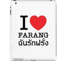 I Heart (Love) Farang iPad Case/Skin