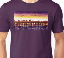 San Francisco Sunset City Skyline Unisex T-Shirt