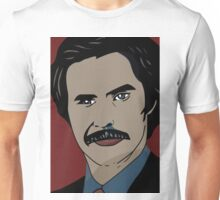 Anchorman 2 - Ron Burgundy  Unisex T-Shirt