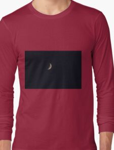 Deuteronomy 4:19  And beware lest you raise your eyes to heaven, and when you see the sun and the moon and the stars... Long Sleeve T-Shirt