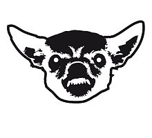 Angry Chihuahua Face by Style-O-Mat