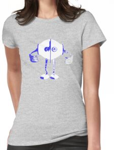 robot t-shirt Womens Fitted T-Shirt