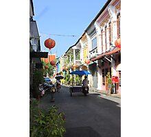 Rush Hour in Phuket Town Photographic Print