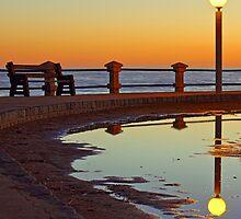 Magical Sunset in Piriapolis by rominadominzain