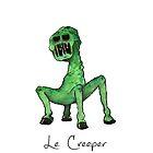 Le Creeper Phone Case by Kochopia