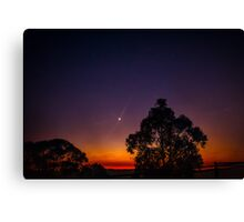 As night turned to day Canvas Print