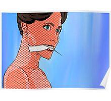 Irene Adler (BBC Sherlock) Pop Comic Art Poster