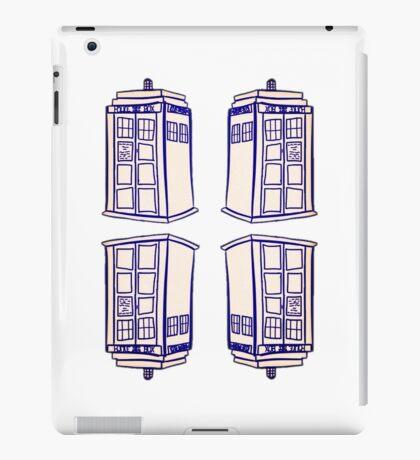 Mirrored Tardis | Doctor Who iPad Case/Skin