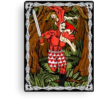 Tales of the Bunny-Man Centerfold Canvas Print
