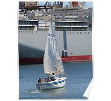 Sailing the Harbour Poster