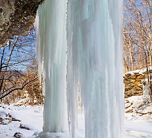 Columns of Ice by Kenneth Keifer