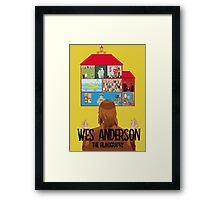 Wes Anderson: The Filmography Framed Print
