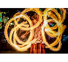 MYSTICAL FIRE Photographic Print