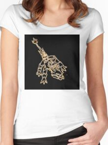 Elemental Dragon - Earth Women's Fitted Scoop T-Shirt