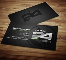 Herbalife Business Cards Design 5 by tankprints