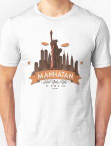 Manhatan Retro-style Design (Inspired by Fringe) T-Shirt