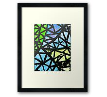 Abstraction of Love Framed Print