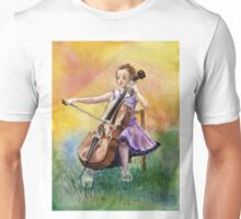 Little Cellist Unisex T-Shirt