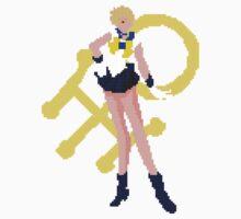 Pixel Sailor Uranus  Kids Tee