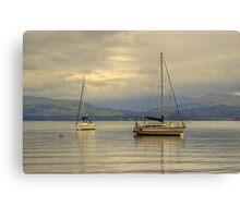 Windermere Yachts Canvas Print