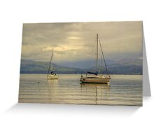 Windermere Yachts Greeting Card