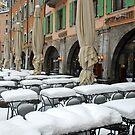 Snow instead of sun by Arie Koene